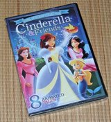 NEW Royal Princess Collection DVD Cinderella & Friends 8 Enchanted Fairy Tales in Morris, Illinois