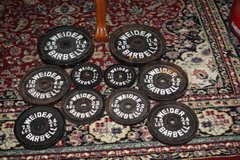 Weilder Barbell Weights 100 lbs in Kingwood, Texas