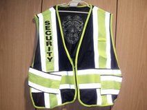 REFLECTIVE DUTY VESTS WITH SECURITY LOGO ON THE BACK (DARK NAVY) (T=43 in Fort Campbell, Kentucky