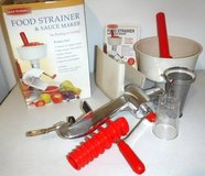 Like New! Back to Basics Food Strainer & Sauce Maker in Joliet, Illinois