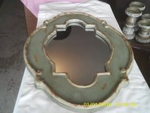 MIRROR HOBBY LOBBY HARD WOOD FRAME SHABBY CHIC STYLE EXPENSIVE NEW in Naperville, Illinois