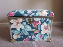 Green Flowered Small Storage Trunk in Algonquin, Illinois