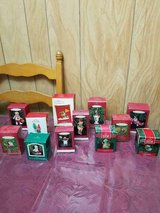 12 Hallmark Keepsake Ornaments. Ornaments are in great condition and in Orig Boxes in Bellaire, Texas