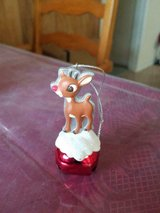 "3"" Rudolph Red Nose Reindeer Jingle Bell Ornament! in Bellaire, Texas"