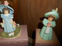 """2 Maud Humphrey Bogart Porcelain Figurines: """"Playtime"""" and """"Little Playmates"""" in Kingwood, Texas"""