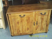 reduced...SERVING TABLE/ CRAFT TABLE / MINI BAR SHOW ROOM QUALITY lot of purposes you can use it... in Joliet, Illinois