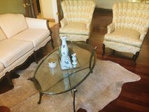 Antique Cream couch and two chairs-great for living or sitting room in Plainfield, Illinois