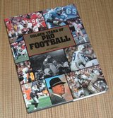 Vintage 1993 Golden Years of Pro Football Hard Cover Coffee Table Book w Dust Jacket in Plainfield, Illinois