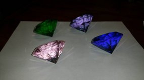 Dimond shaped glass in Kingwood, Texas