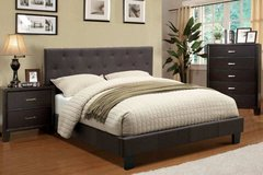 New Queen Charcoal Tufted Bed Frame FREE DELIVERY in Miramar, California
