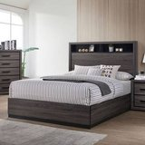 New Gray Queen Bookcase Bed Frame FREE DELIVERY in Miramar, California