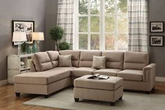 New! 3 Piece Sectional Sofa FREE DELIVERY in Miramar, California