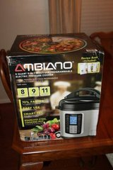 New Ambiano 8qt 9-in-1 Programmable Pressure Cooker in Houston, Texas