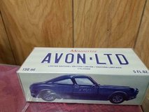 Brand new bottle of AVON Mesmerize Cologn in Blue Sports Car Decanter. 5oz bottle in Mint condit... in Kingwood, Texas
