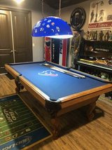 Texans Pool Table Set in Houston, Texas