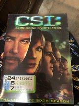 CSI sixth season DVD set in Kingwood, Texas