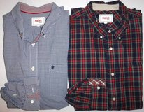 Men's 2XL Stafford Prep Casual Dress Shirts ~1 checked + 1 plaid in Chicago, Illinois