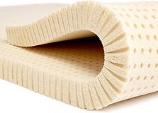 Pure Green 100% Natural Latex Mattress Topper Firm 2 Inch Twin Size in Plainfield, Illinois
