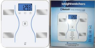 New! WeightWatchers Bluetooth Body Analysis Scale in Orland Park, Illinois