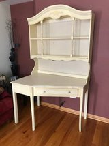 Vintage desk with hutch in Chicago, Illinois