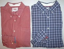 Men's XL Stafford Prep Casual Dress XLg Shirts ~1 check + 1 plaid in Westmont, Illinois