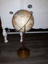 Vintage Replogle 12 inch World Classic Series Raised Globe with Stand in CyFair, Texas