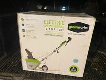 "New Greenworks Electric Snow Thrower - 12 AMP - 20"" Clearing in Bartlett, Illinois"