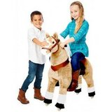 KIDS PLAY Basic Fun  PonyRider White Hoof Pony,Light Brown in Bolingbrook, Illinois