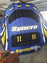 Large Aquaglide Syncro Towable Water Tube 4 person Raft in CyFair, Texas