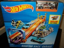 Hot Wheels Rooftop Race Garage with Tune Up Shop (T=20) in Fort Campbell, Kentucky