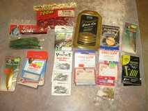 lot of fishing tackle eagle claw,zoom,owner cps,cortland,hildebrand & more in Camp Lejeune, North Carolina