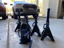 Kobalt Bottle Jack & Stands in Huntington Beach, California