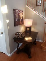 Vintage Scroll Leg Table (obo) in Yorkville, Illinois