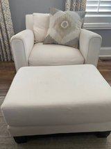 Oversized Chair and Ottoman in Chicago, Illinois