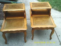 SET OF END TABLES ALL KNOTTY PINE ,EXCELLENT CONDITION in Naperville, Illinois