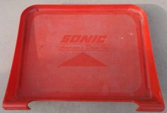RED CAR HOP FOOD TRAY FROM SONIC - AMERICA'S DRIVE-IN in Navasota, Texas