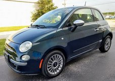 2013 Fiat 500 Lounge Hatchback, Leather, Automatic, Sunroof, 43k Miles in Cherry Point, North Carolina