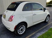 NICE 2012 Fiat 500C Convertible, Automatic Transmission, 68,000 Miles in Cherry Point, North Carolina