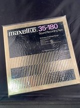 10.5 inch Factory Sealed Metal Maxell reel in Batavia, Illinois