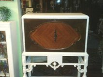ANTIQUE  DESK I HAVE EVER SEEN WHERE IT HAS A WATER FALL FRONT WHICH I in Glendale Heights, Illinois