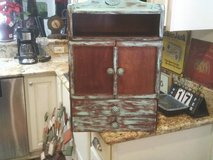 )THE SMALL JEWELRY YOU CAN HANG ,he HAS TWO DOORS OPENS TO A MIRROR AN in Westmont, Illinois