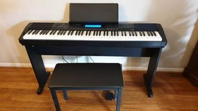 Casio 88 Key Digital Piano only CDP-235CSCB **12 months Warranty** in Naperville, Illinois
