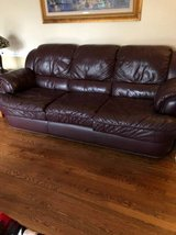 4 piece family room leather furniture set in St. Charles, Illinois