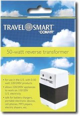New! Conair Travel Smart 50 Watt Reverse Transformer in Orland Park, Illinois