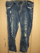 V.I.P Jeans Distressed Plus Size (T=41) in Fort Campbell, Kentucky