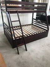 Ashley Furniture Halanton Twin over Full Bunk Bed with Storage Drawer in Joliet, Illinois