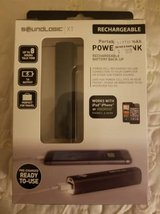 New portable rechargeable battery back up in box in Camp Pendleton, California