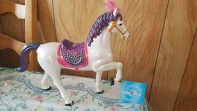 "Disney ON ICE Pink and Purple Iridescent Show Horse Toy Figure! 12"" x 10"" in Bellaire, Texas"