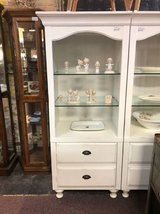 White bookcases in St. Charles, Illinois
