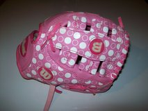 wilson pink t-ball softball glove a300 in Orland Park, Illinois